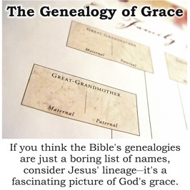 The Genealogy of Grace
