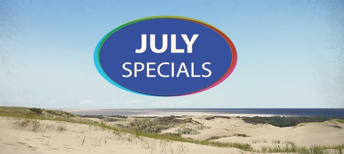 July Specials