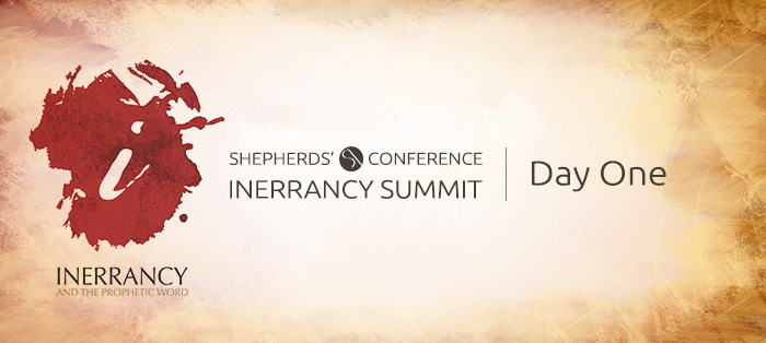 Blog<strong>Inerrancy Summit, Day One</strong>