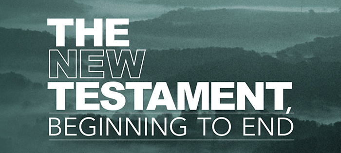 On the Radio<strong>New Testament, Beginning to End</strong>