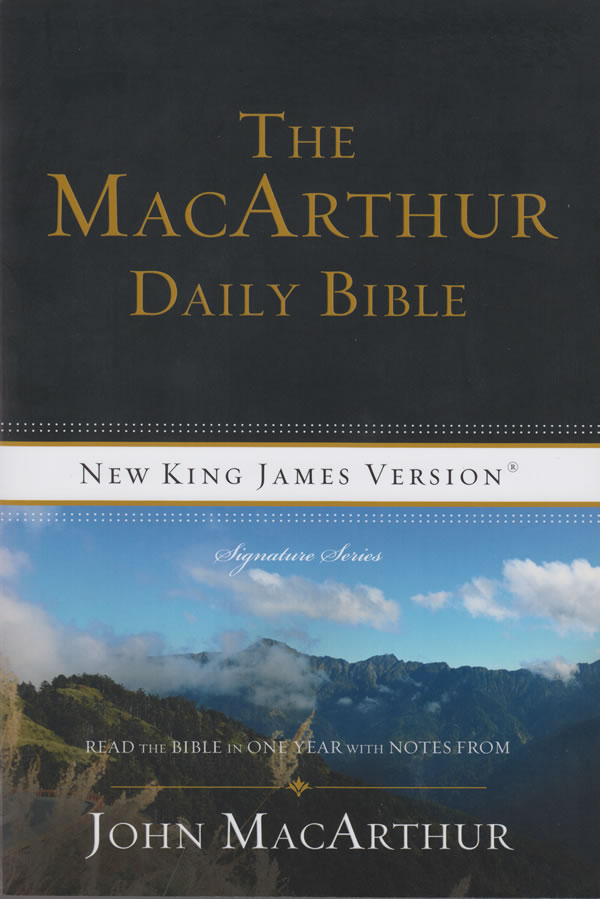 The MacArthur Daily Bible (Softcover)