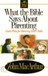 What the Bible Says About Parenting (Softcover)