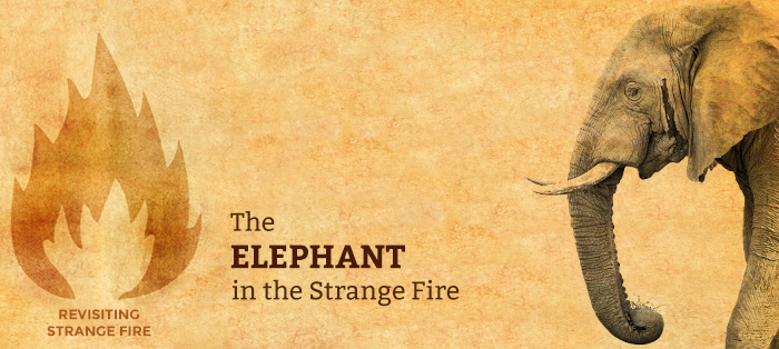 Next post: The Elephant in the Strange Fire