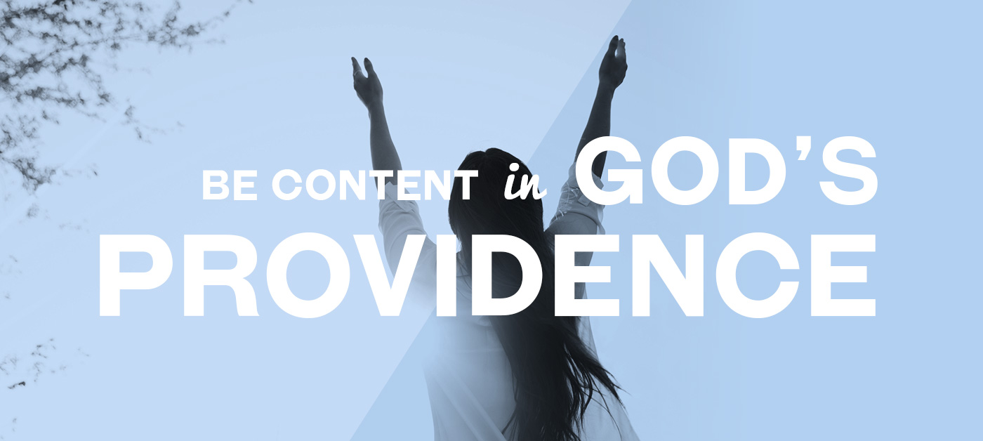 Be Content in God