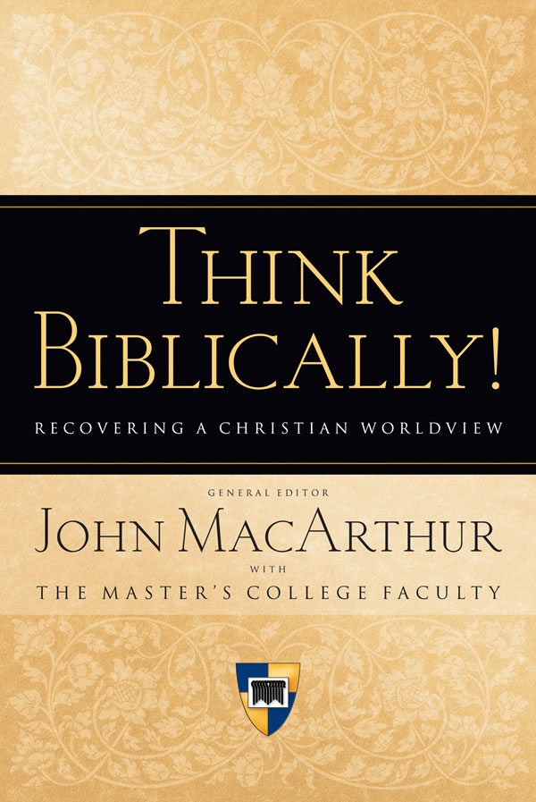 bibical world view A biblical christian believes in the incarnate son of god, jesus, by whom the father created all things and who sustains all things, and who, thereby, speaks to the entirety of life, both time and eternity.