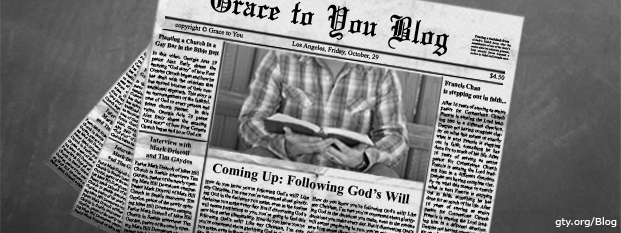 Previous post: Coming Up: Following God's Will