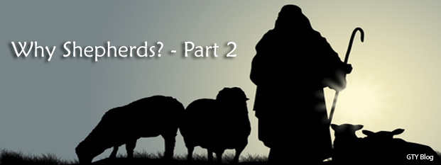 Previous post: Why Shepherds? - Part 2