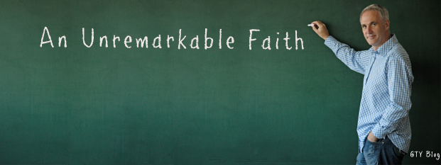 Previous post: An Unremarkable Faith