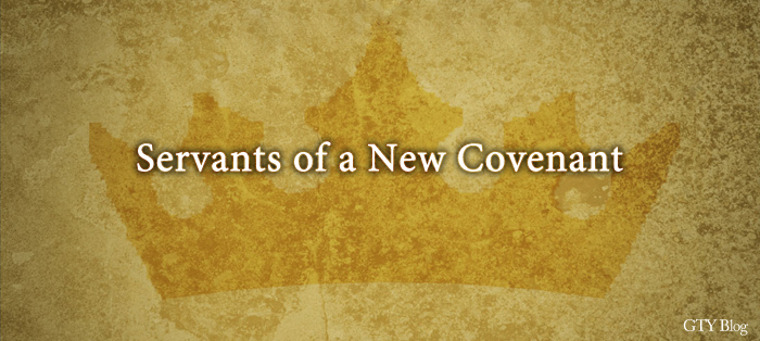 Previous post: Servants of a New Covenant