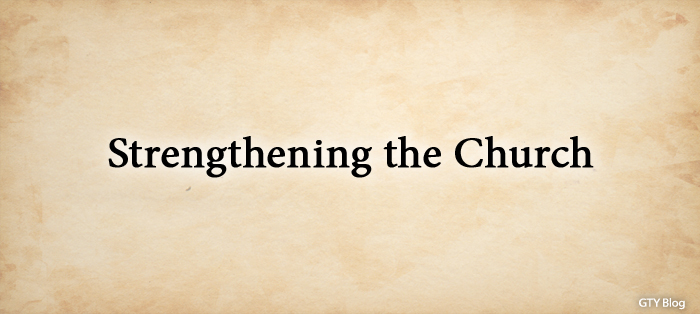 Previous post: Strengthening the Church