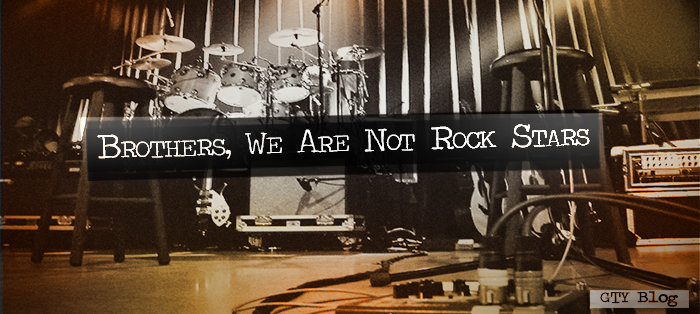 Brothers, We Are Not Rock Stars