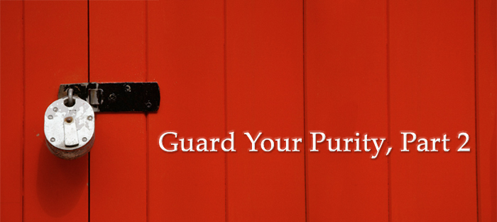 Previous post: Guard Your Purity, Part 2