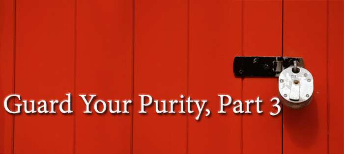 Previous post: Guard Your Purity, Part 3