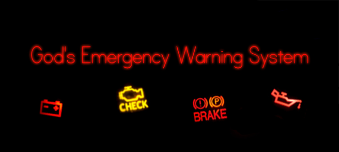 Next post: God's Emergency Warning System