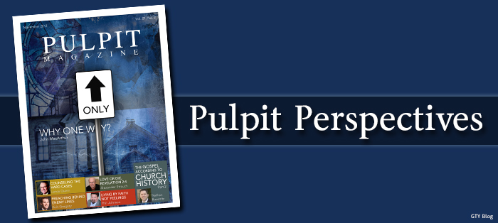 Next post: Pulpit Perspectives