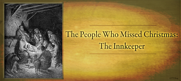 Next post: The People Who Missed Christmas: The Innkeeper