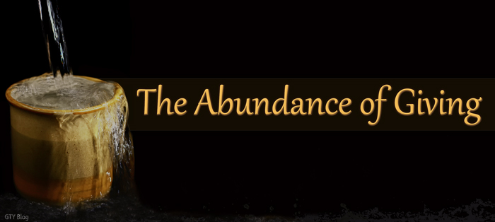 Previous post: The Abundance of Giving