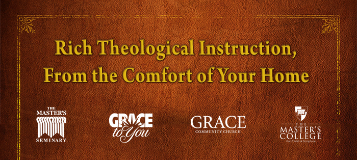 Rich Theological Instruction, From the Comfort of Your Home