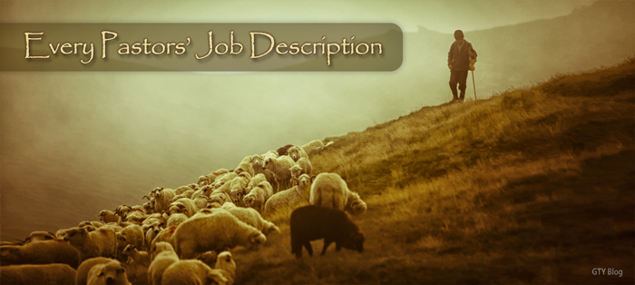 Previous post: Every Pastor's Job Description