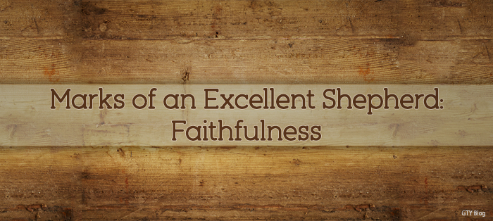 Next post: Marks of an Excellent Shepherd: Faithfulness