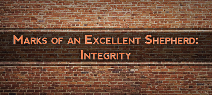 Marks of an Excellent Shepherd: Integrity