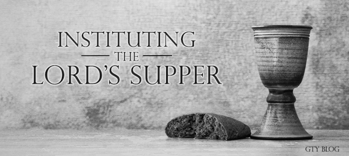 Next post: Instituting the Lord's Supper