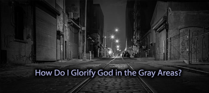 Previous post: How Do I Glorify God in the Gray Areas?