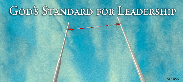 Next post: God's Standard for Leadership