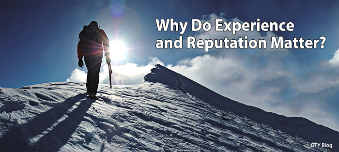 Previous post: Why Do Experience and Reputation Matter?