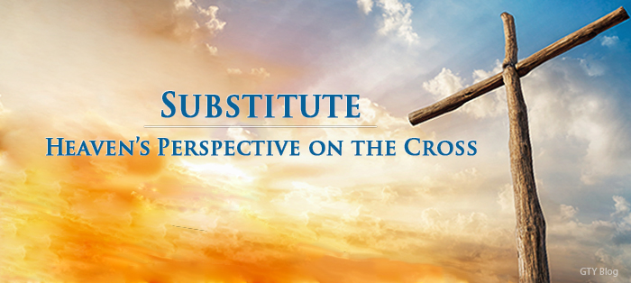 Previous post: Heaven's Perspective on the Cross: Substitute