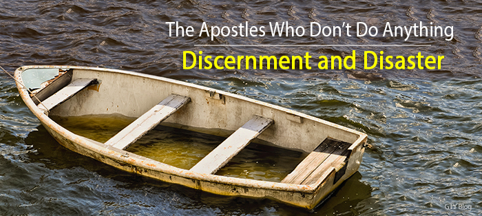 Next post: Discernment and Disaster