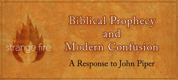 Previous post: Biblical Prophecy and Modern Confusion