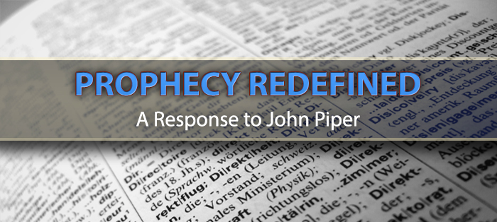 Next post: Prophecy Redefined