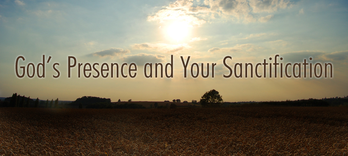 Next post: God's Presence and Your Sanctification
