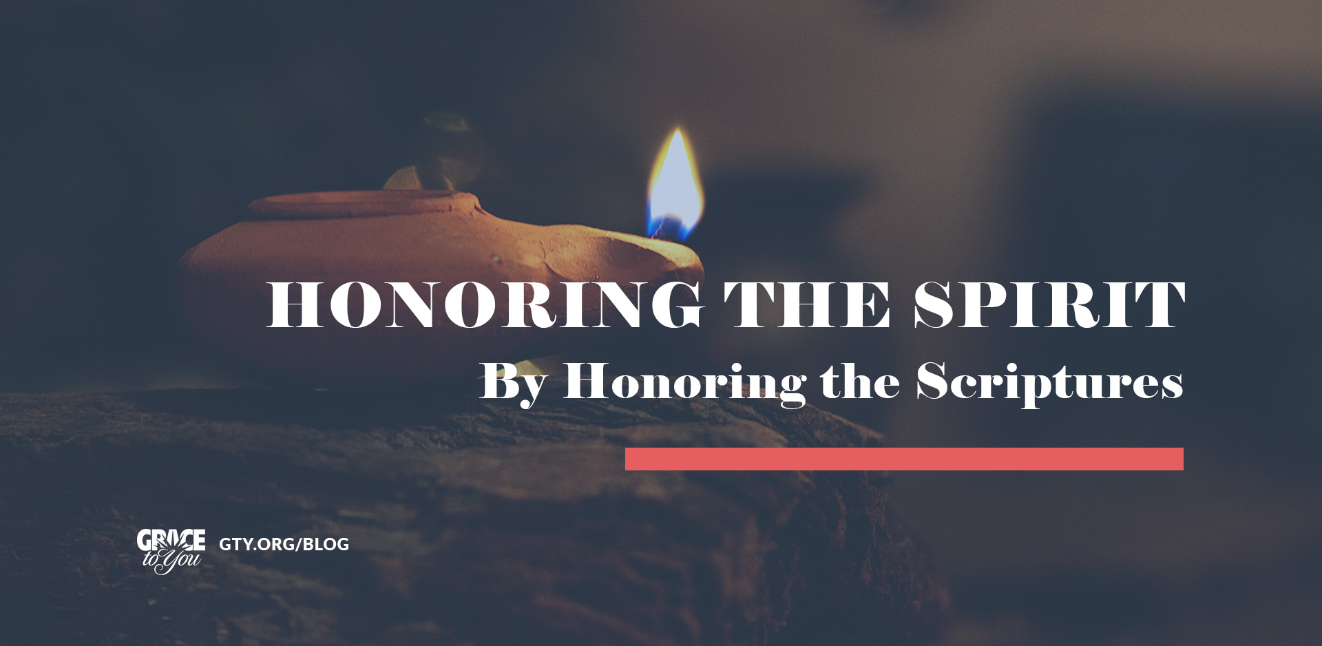 Honoring the Spirit by Honoring the Scriptures