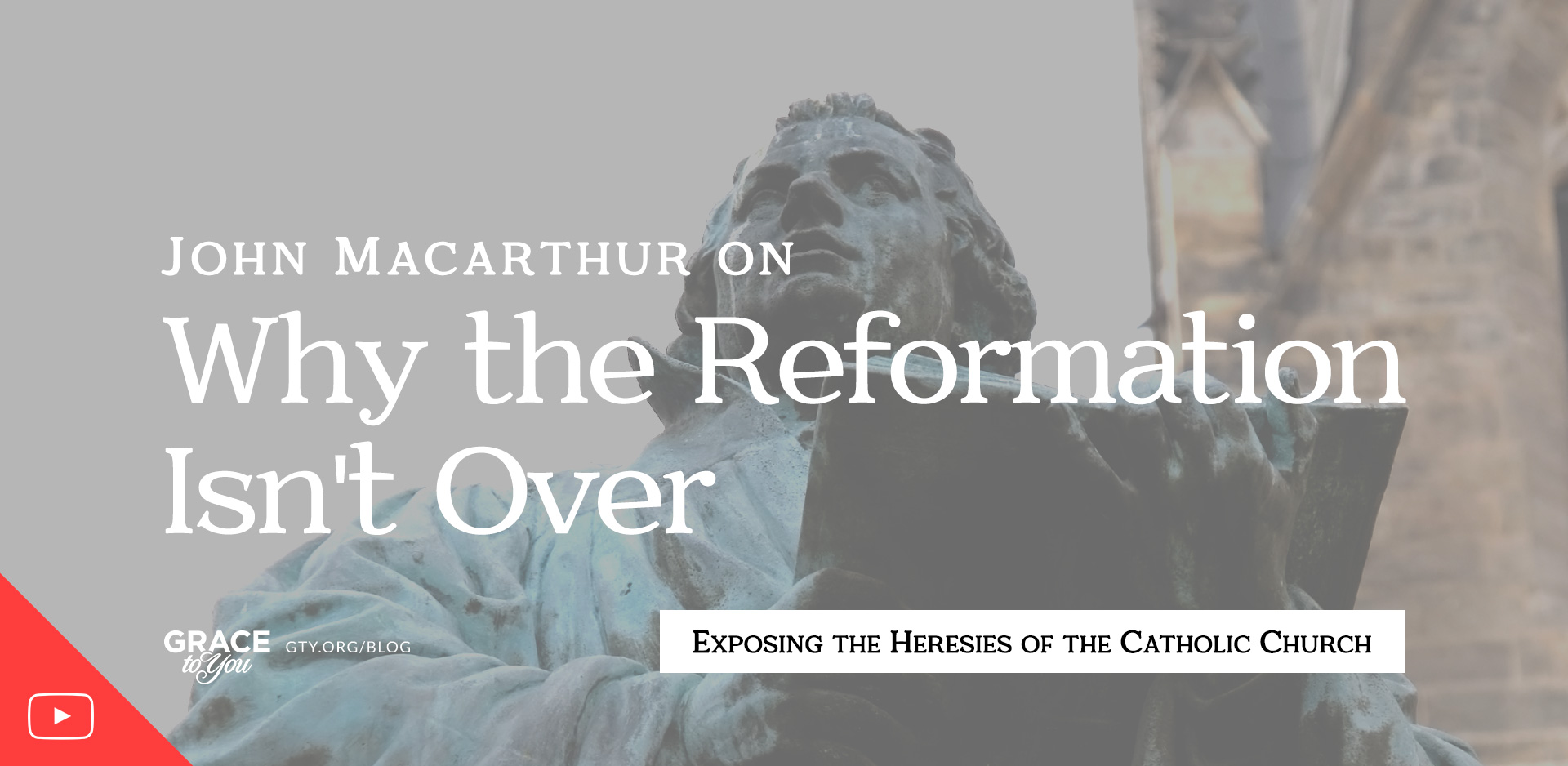 John MacArthur on Why the Reformation Isn't Over