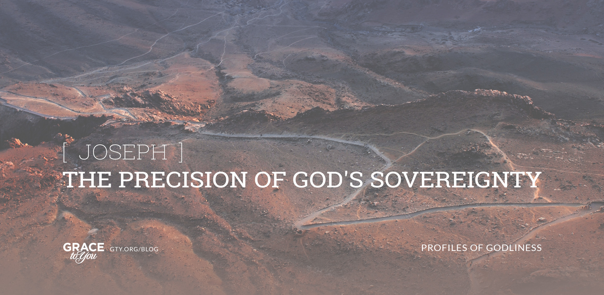 Joseph: The Precision of God's Sovereignty