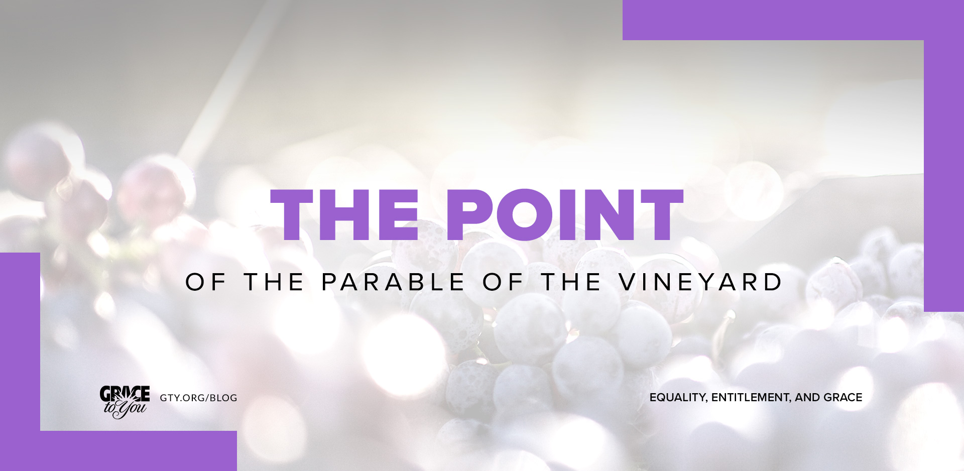 The Point of the Parable of the Vineyard