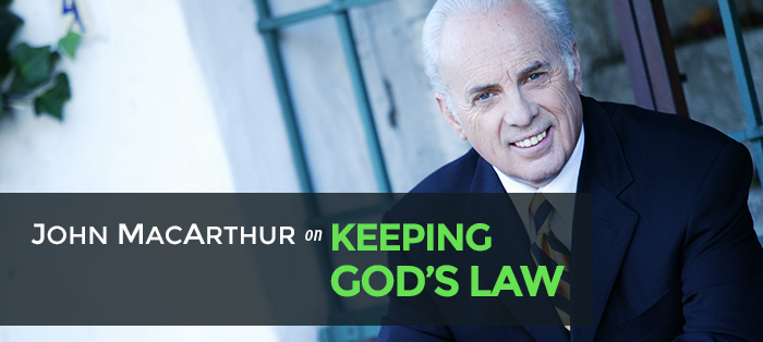 John MacArthur on Keeping God