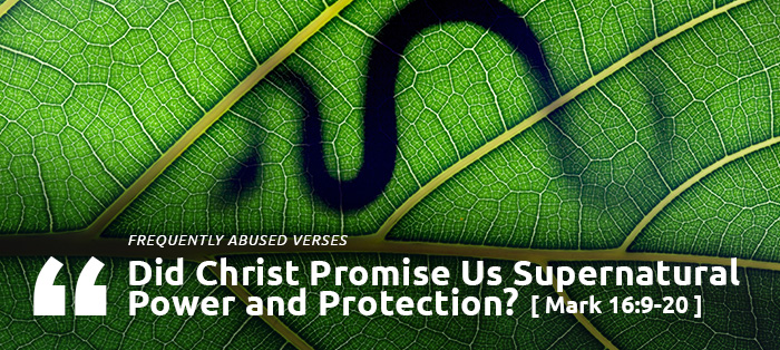 Did Christ Promise Us Supernatural Power and Protection?