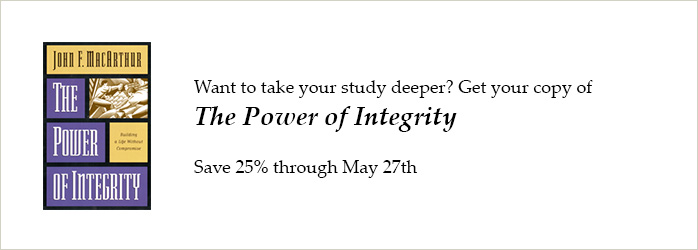 The Power of Integrity (Softcover)