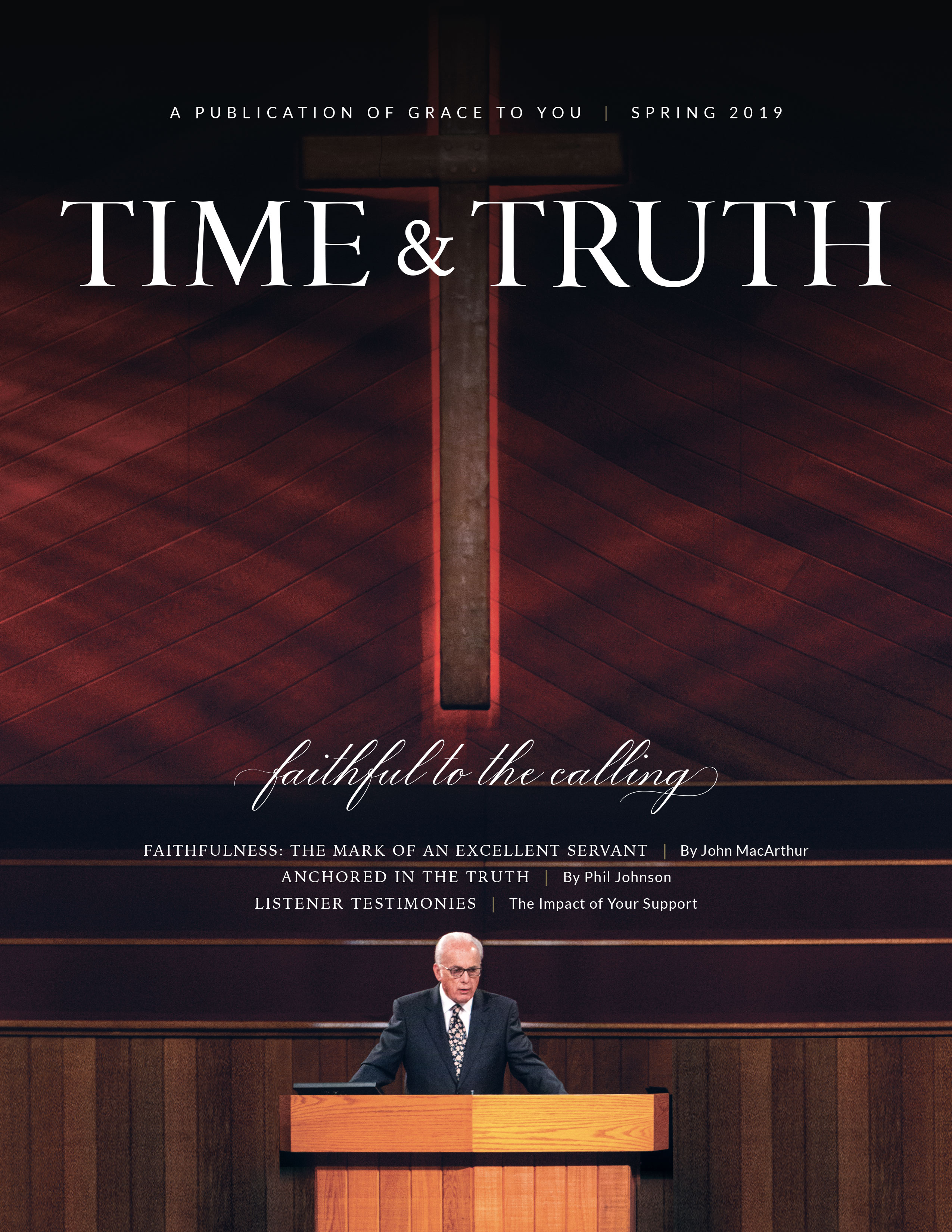 Time & Truth Spring 2019 Issue Cover